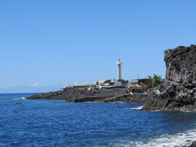 La Bombilla, La Palma, Tauchen, Einstieg, Leiter