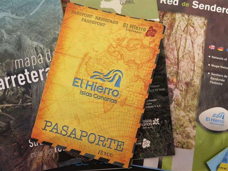 El Hierro Reisepass Passport Sehenswürdigkeiten Museen Centro de Interpretacion Urlaub Kanaren Kanarische Inseln