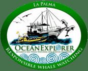 La Palma Whale Watching Ocean Explorer Logo Wale Delfine Inia Bussard Flipper Logo aktivitäten sehenswürdigkeiten