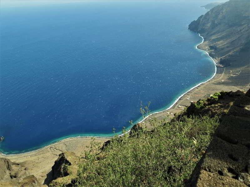 El Hierro Aktivitäten Strand strände baden schwimmen Las Playas Aussicht Mirador Isora