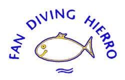 Tauchen el hierro fan diving logo tauchcenter tauchbasis tauchplätze kanaren kanarische inseln mar de las calmas la restinga