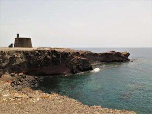 Castillo de las Coloradas Lanzarote Playa Planca Sehenswürdigkeiten Kanaren Kanarische inseln