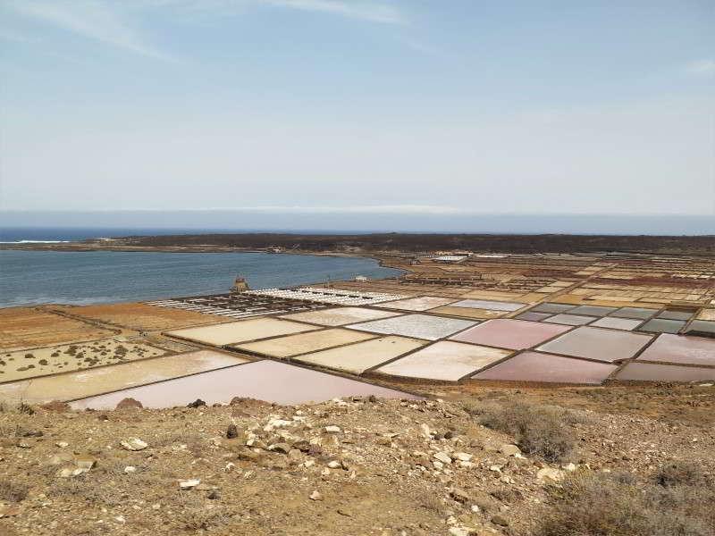 Salinas de Janubio Lanzarote sehenswürdigkeiten Salz gewinnung