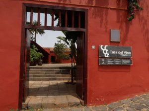Museen Teneriffa Museum Casa del Vino Restaurant